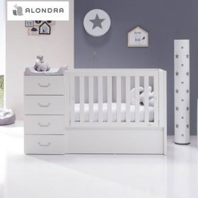 principal cuna convertible alondra just joy blanca