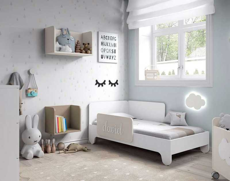 habtiacion infantil 04 soft white cama
